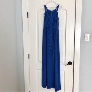 Like new! Gorgeous blue maxi